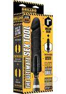 Drilldo Dildo Vac U Lock Compatible Drilldo Bit Dong Black...