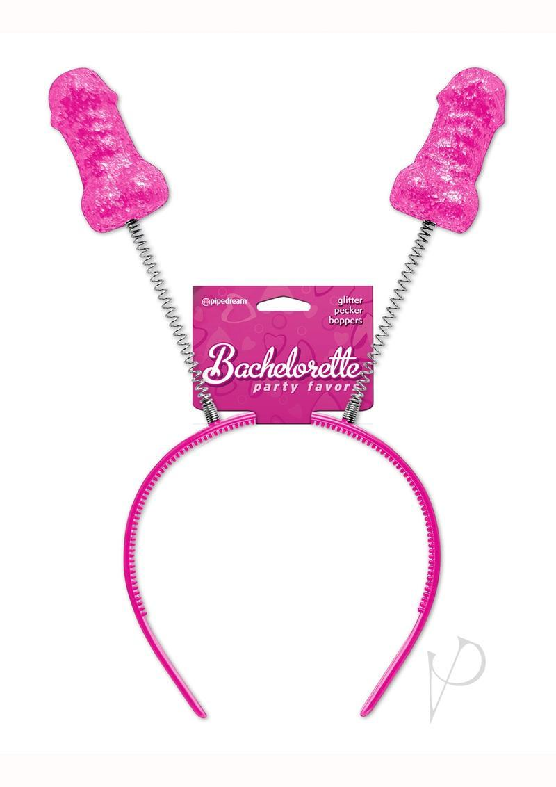 Bachelorette Party Favors Glitter Pecker Boppers Red